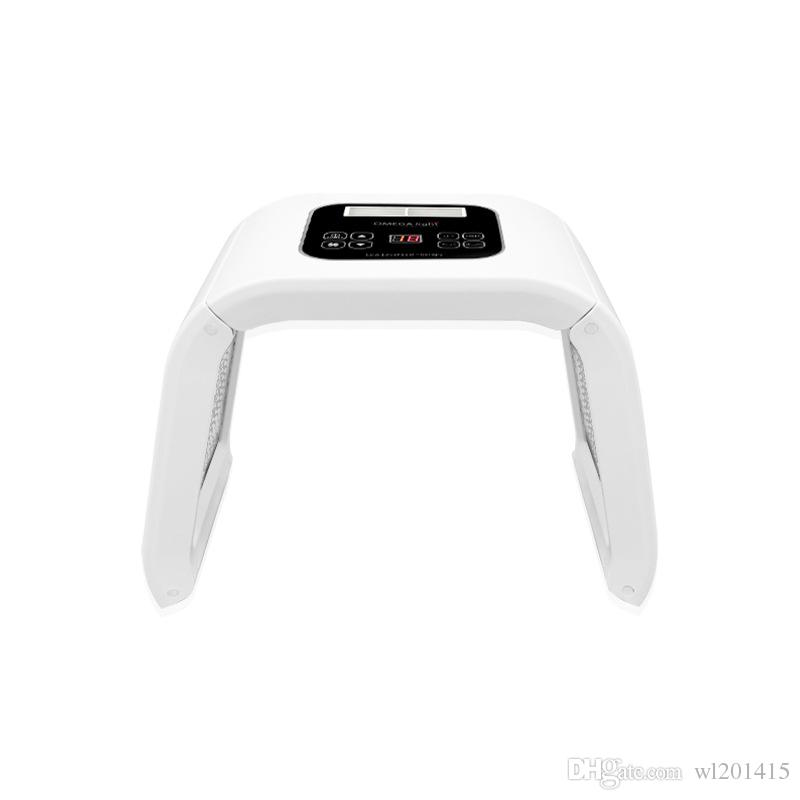 4 cores LED Light Therapy Para Acne remoção de sardas LED Photon Máscara PDT luz destacável máquina Beauty uso salon