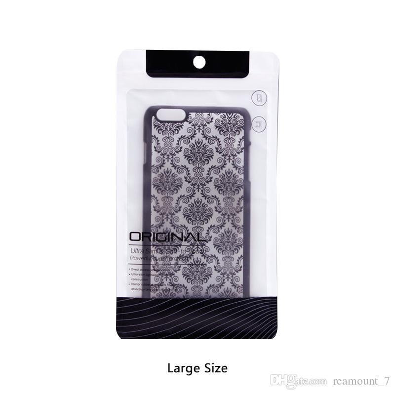c5a2beddf Compre Por Atacado Phone Case Embalagem Para Iphone 8 8 Plus Capa Traseira  Saco De Embalagem Bolsa Com Zíper Para Samsung Note 8 J7 Prime De  Reamount_7, ...