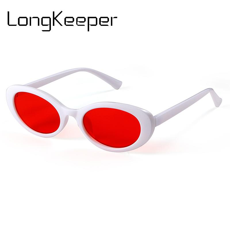 e02aa7c72197 2018 Brand Designer Top Oval Sunglasses Women Men Vintage Cute Cat Eye  Sunglasses Small Frame Ladies Sun Glasses Gafas De Sol Cycling Sunglasses  Running ...