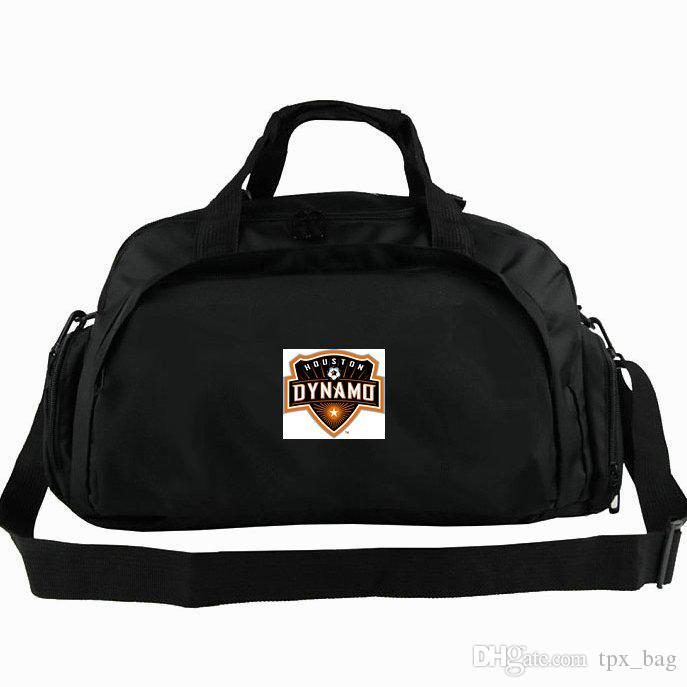6b2ccb5d4 Dynamo Duffel Bag Houston Tote Orange Crush Football Club Backpack Soccer  Badge Luggage Sport Shoulder Duffle Outdoor Sling Pack Cheap Duffle Bags  Backpacks ...