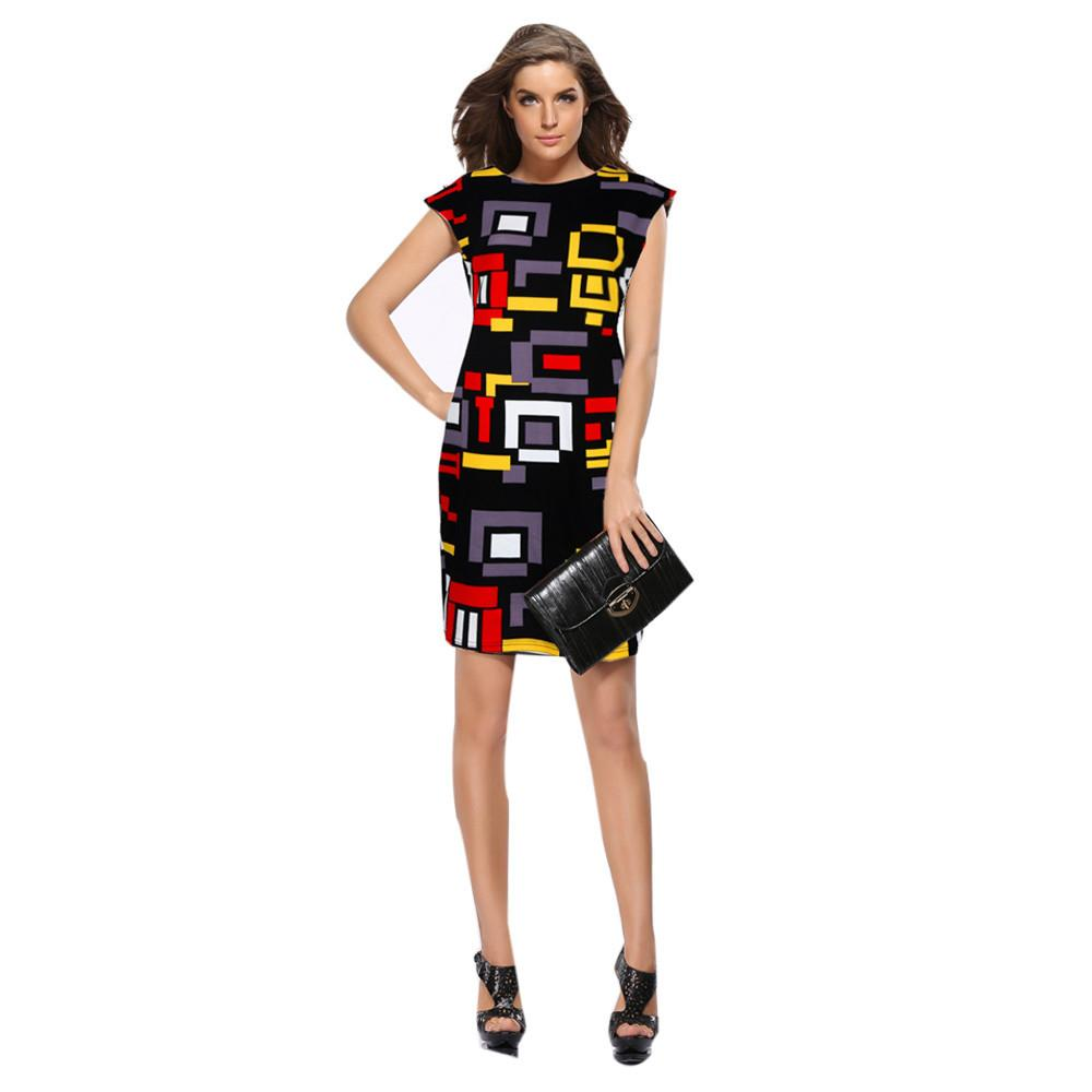 55cd647aa Good Quality 2018 Fashion Women Summer Dress Short Sleeve Sexy Mini ...