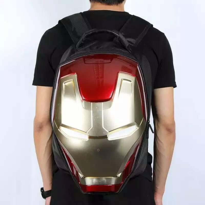 Fashion High Quality 3D School ABS Iron Man Bag For Teenagers University  Student Bags Boys Iron Man BackpacCasual Daypacks Best Laptop Backpack  Wheeled ... e0c6a89a54867
