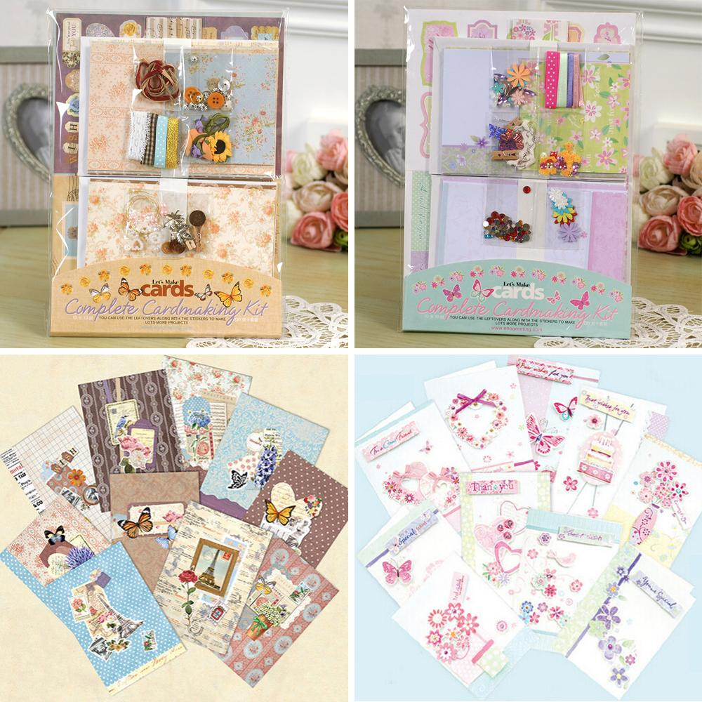 Wholesale DIY Greeting Card Making SuppliesCreative Complete Kit For Kids Diy Cards Online With 2541 Set