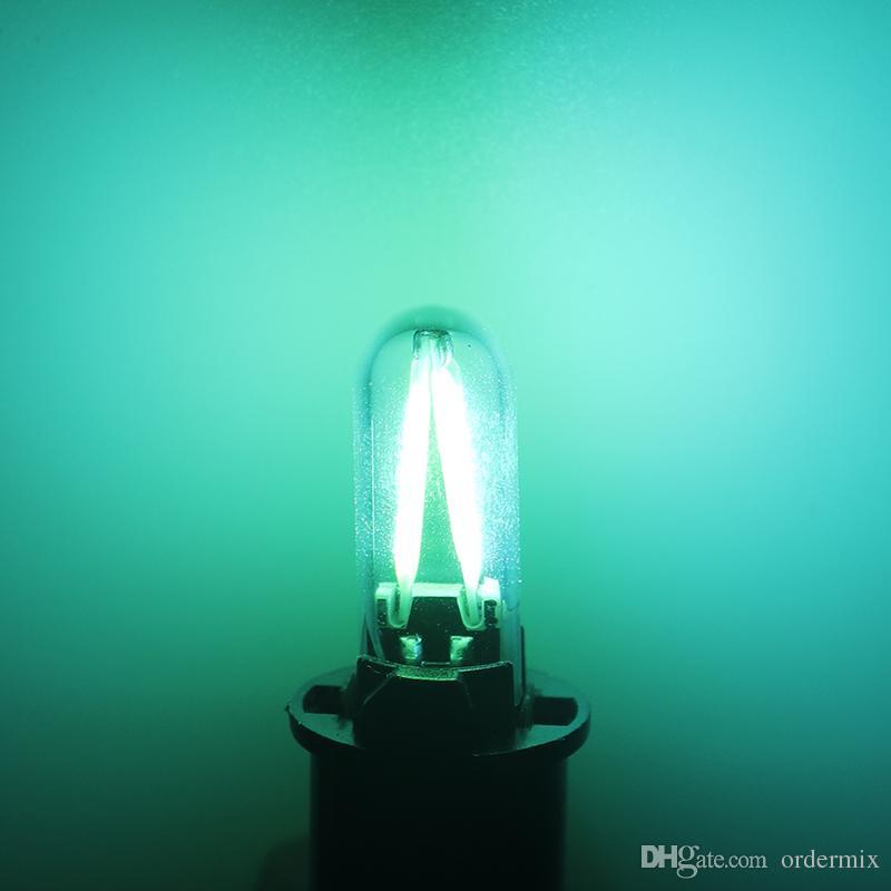2 قطع 6000 كيلو t10 w5w 194 سيارة أدى ضوء خيوط البوليفيين الزجاج الداخلية الذيل الخلفي الضباب لمبة القراءة إشارة مصباح النقي الأبيض 12 فولت لهوند