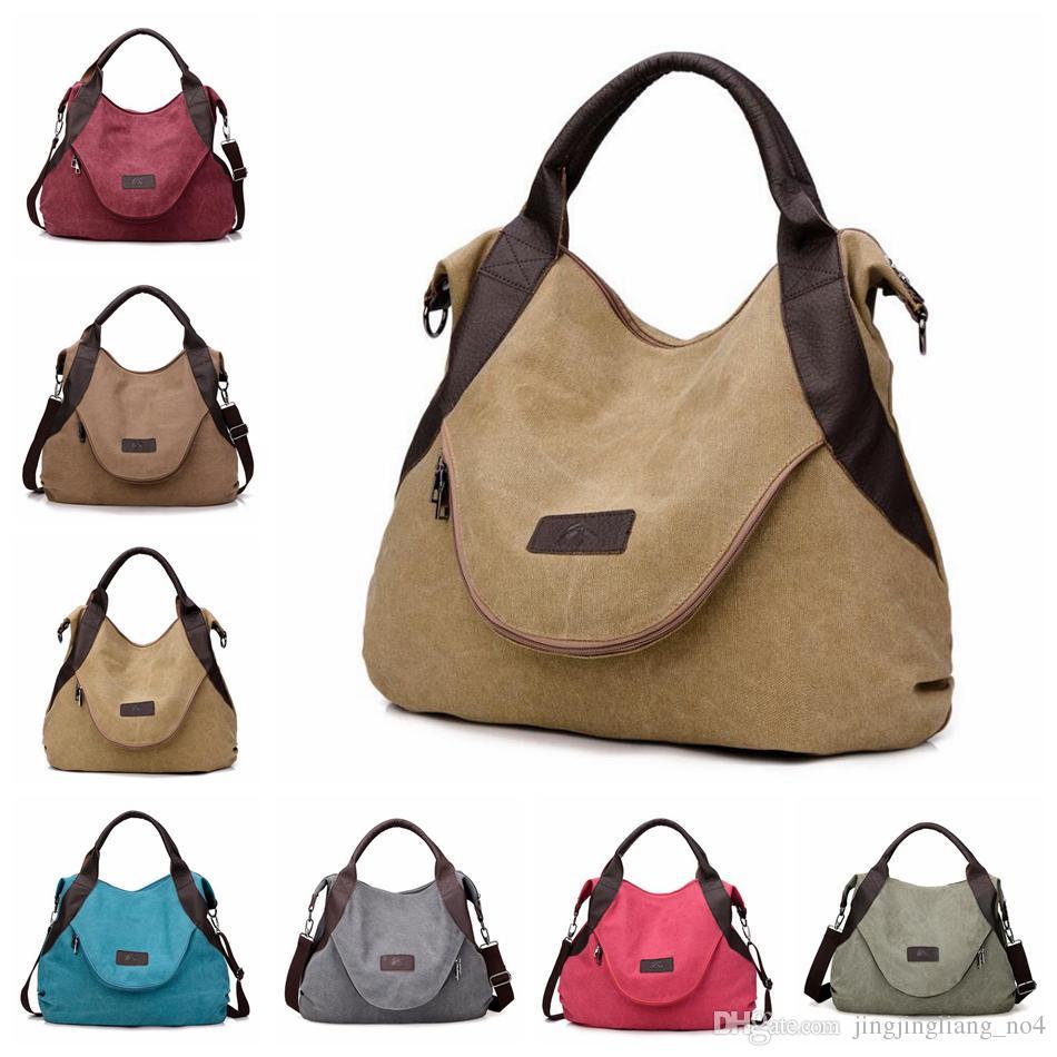 Canvas Shoulder Bag Women Large Capacity Cross Body Messenger Bag Mommy  Diaper Organizer Bags OOA5867 Leather Purse Womens Purses From  Jingjingliang no4 cd402328e0506