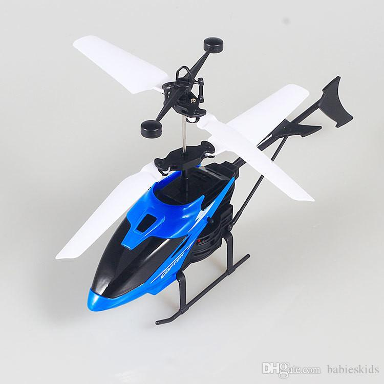 Baby Toy Induction Aircraft Electric Helicopter Alloy Copter Best Toys Gift For Chidren Novelty Toy Without RC