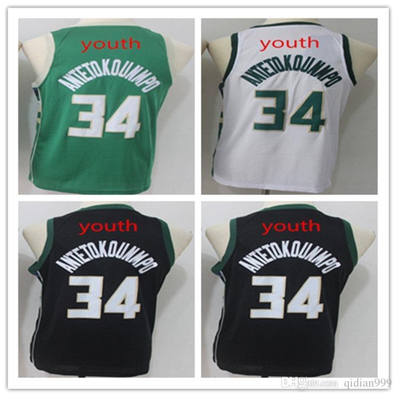 ... free shipping 2018 ncaa 2018 34 giannis antetokounmpo jersey  antetokounmpo youth 100 stitched logos basketball jerseys f6020edf1