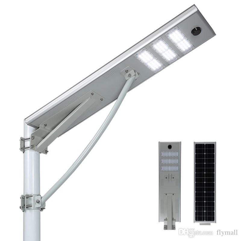 Elegant 2018 50w Led Solar Street Lights Super Bright Solar Powered Waterproof Led Road Lamp Dusk To Dawn With Motion Sensor Outdoor Security Light From Flymall Ideas - Elegant outdoor light photocell Model