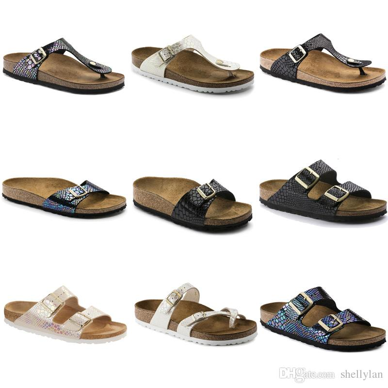 c867009d3cc3 2018 New Style Brand Madrid Giazeh Men Flat Heel Sandals Women Summer  Beaches Confortable Casual Shoes Buckle Top Quality Leather Slippers Flat  Sandals ...