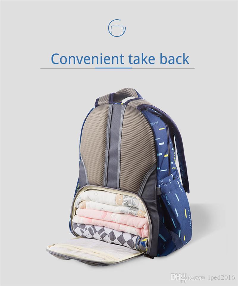 Suneno 2in1 حفاضات حقيبة الأزياء مومياء الأمومة الحفاض حقيبة الطفل السفر المنظم حقيبة التمريض للطفل رعاية الأم أطفال