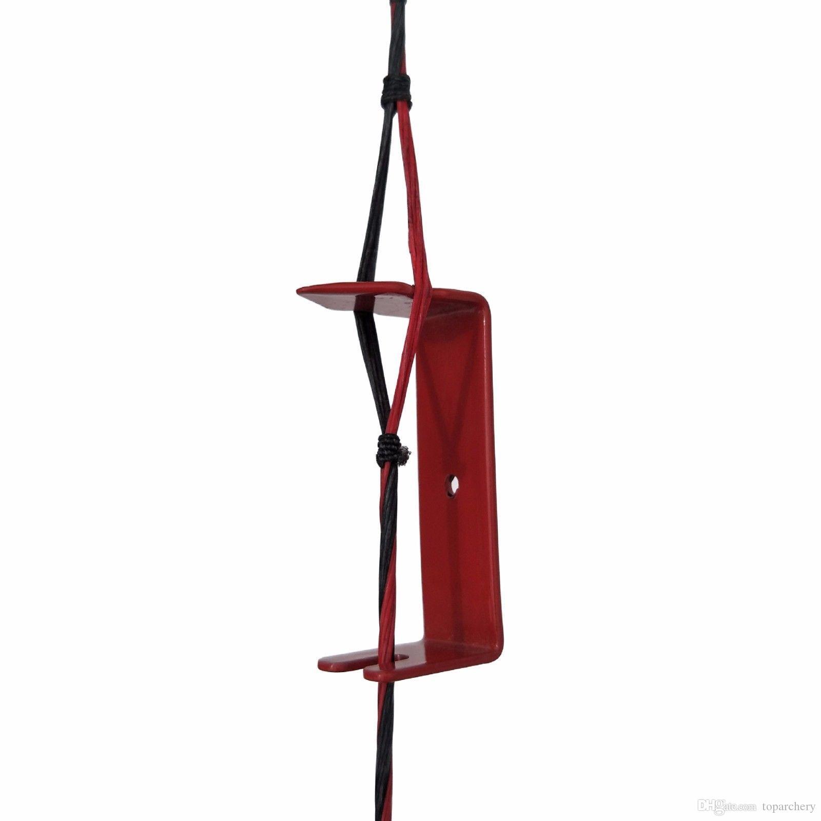 أدوات القوس سلسلة فاصل لتثبيت البصر زقزقة لمجمع القوس سبائك الألومنيوم الصيد الرماية الرماية السهم الملحقات