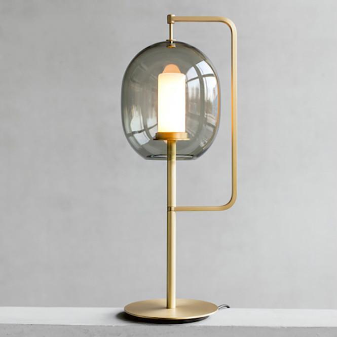 Lampes Luminaires De Table Chevet Lampe Moderne Verre Chambre Décoratifs Bureau Scandinaves S'allume KFuJcTl13