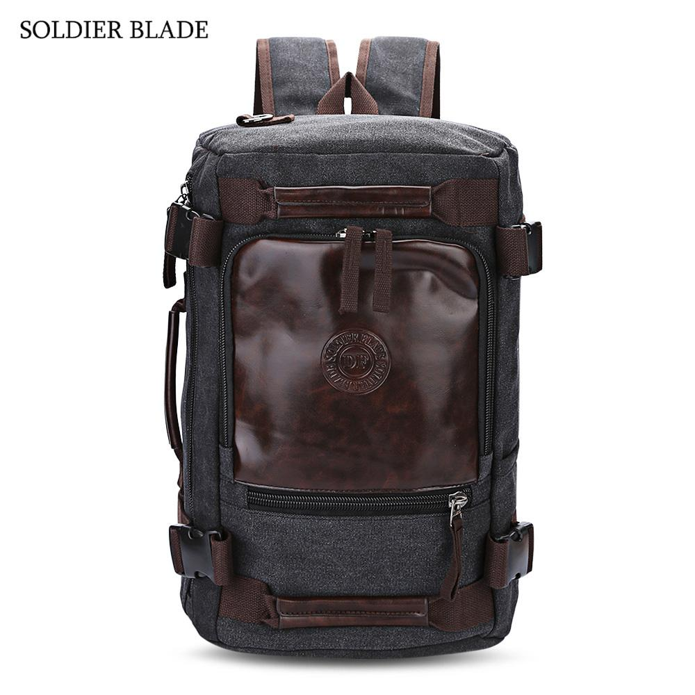 df77db5e50ec SOLDIER BLADE New Multifunction Unisex Travel Backpack Strong ...