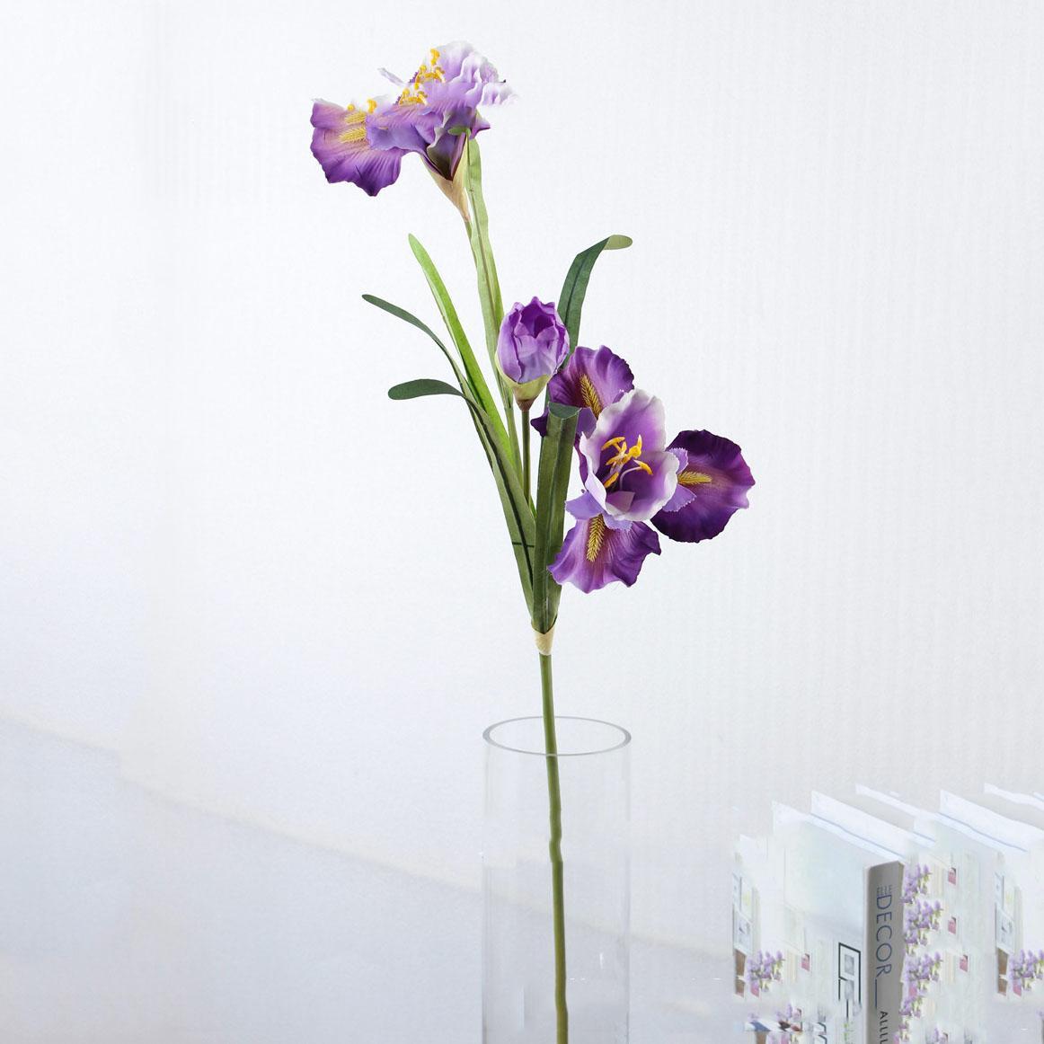 2019 90cm High Artificial Iris Flower Silk Flowers Wedding Party