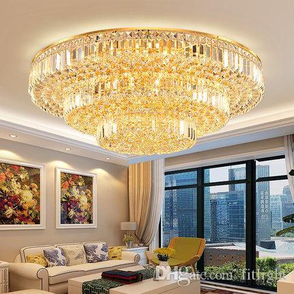 Acheter Lampe De Salon Simple Moderne Atmosphère Ronde Spéciale ...
