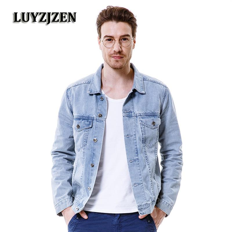 22d151b1255 2019 2017 New Fashion Jeans Shirts Men Denim Shirts Long Sleeve Masculina Denim  Blue Jeans Shirt Casual Brand Blouses Chemise Homme From Chikui