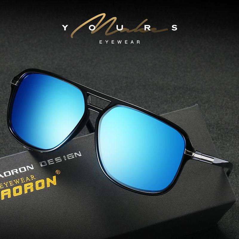 0bebae5337d19 Compre Aviador Mens Óculos De Sol Polarizados Gafas De Sol Mujer Pontos  Para As Mulheres Óculos De Sol Polar Óculos De Marca Designer Eyewear Com  Caso S523a ...