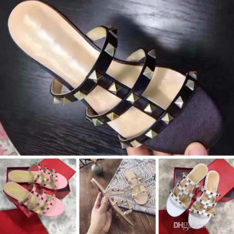 cdbc9d734f24 Brand Sandals Europe Station New Flat Shoes 35-40 High Quality Shoes  Factory Promotion Fashion Shoes High Heels Sandals Online with  79.05 Pair  on Oak105 s ...