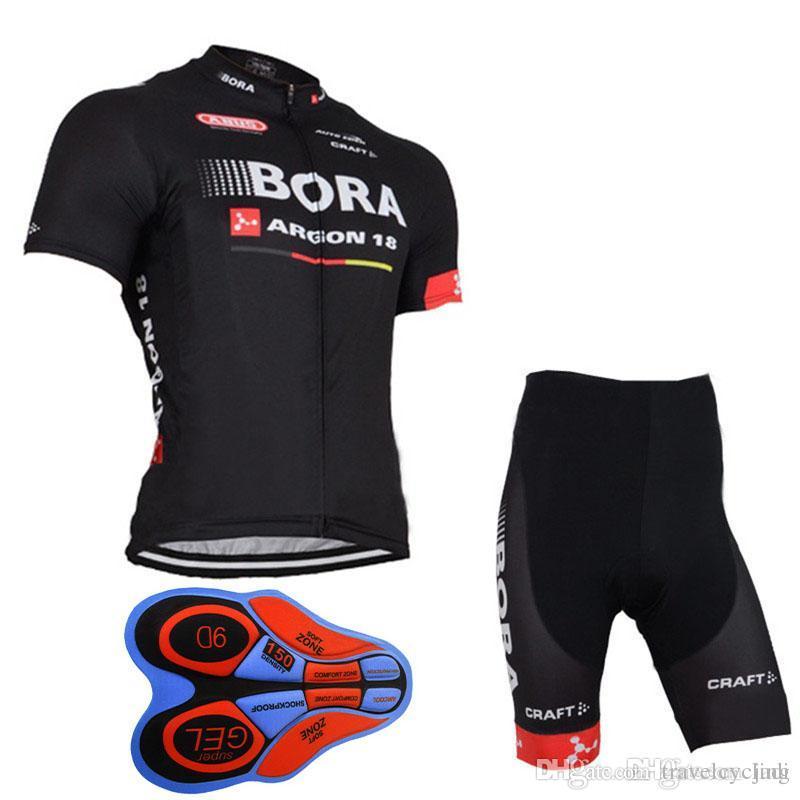 2017 BORA Pro Team Cycling Jersey Set Ropa Ciclismo Hombre Bike ... b773bffe5