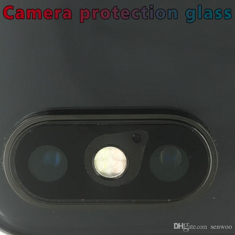 Hot Soft Tempered Glasses Phone X Back Camera Lens Anti Scratch Fiber Screen Protector Film Ultra Slim For iphone 8/8Plus/7/7Plus