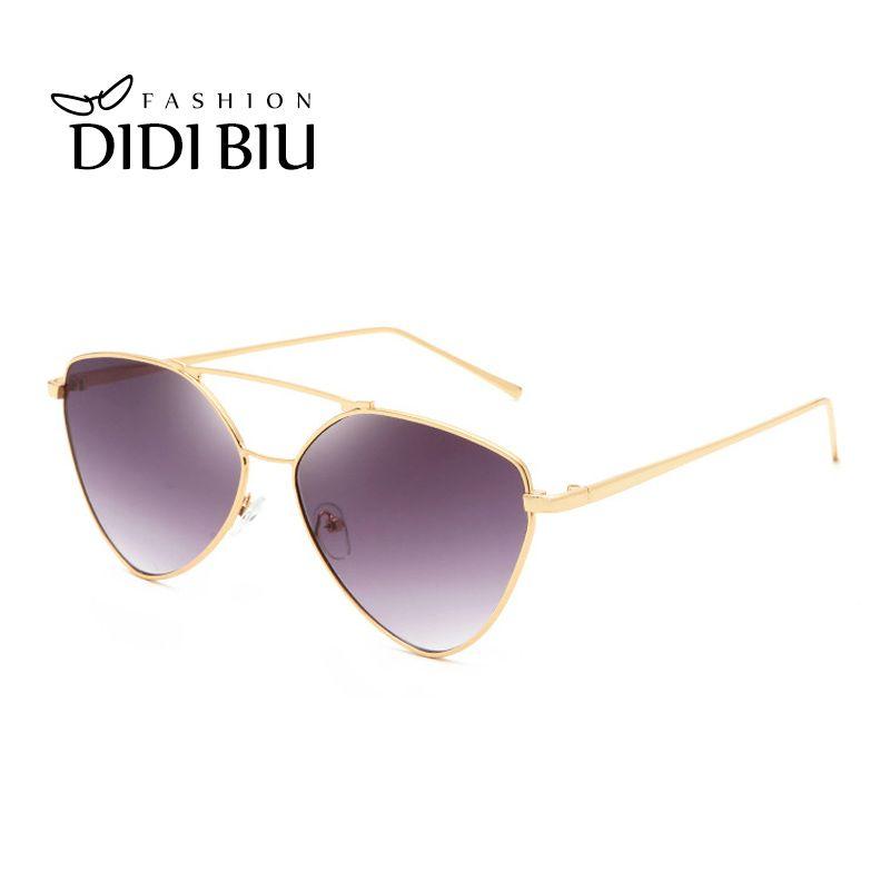 Women Men Retro Sunglasses Trendy Fasgion Leopard Gold Cat Eye Style Gray Blue Silver Driving Party Sunglass Women's Glasses