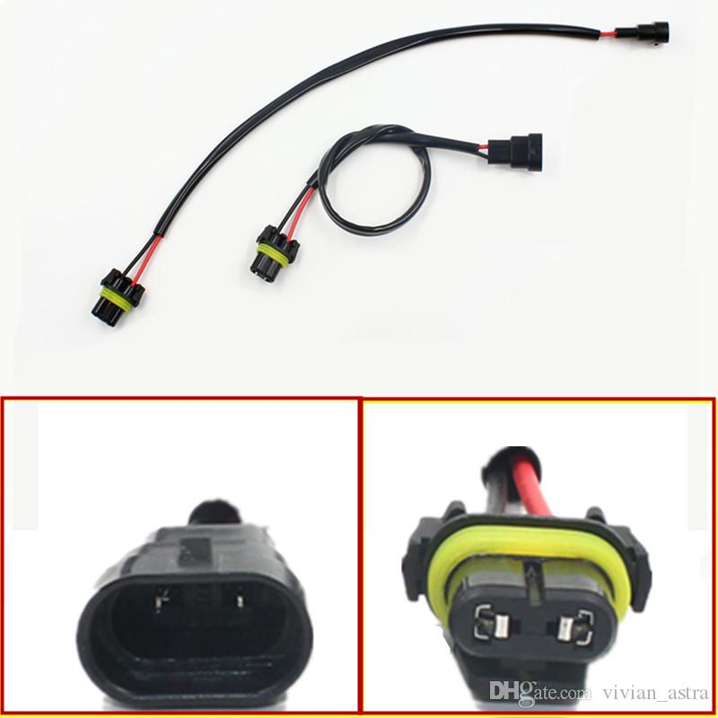 Car-styling Auto 9006 HB4 Wire Harness HID Xenon Power Cable Connector Ballast Socket HID Wiring relay Connector Adapter