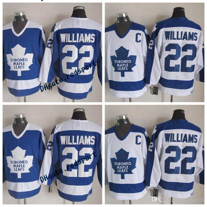 9b00e4f83 Toronto Maple Leafs Tiger Williams Hockey Jersey Vintage 22 Tiger ...
