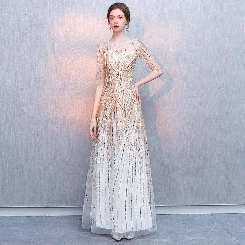 2f70d59fb27 LS1384 New The Elegant Jewel Luxury Mermaid Half Sleeve Bling Bling Simple  Party Prom Evening Dresses Special Occasion Formal Dresses Special Occasion  Prom ...