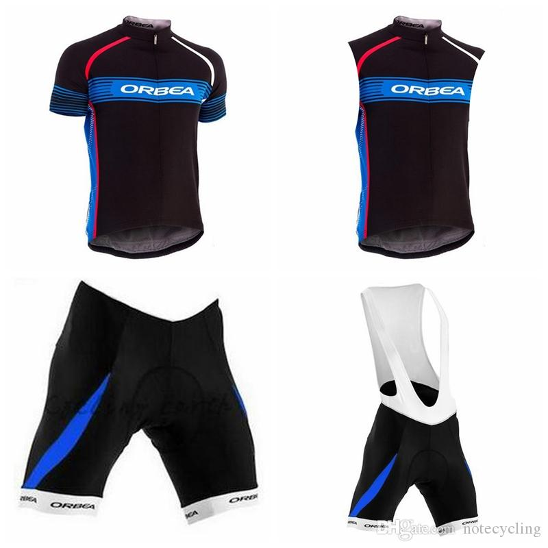 ORBEA Cycling Short Sleeves Jersey Bib Shorts Sleeveless Vest Sets 2018  Summer Riding Clothes Mtb Bike Clothing Fashion Breathable A41720 ORBEA  Cycling ... 871493c72