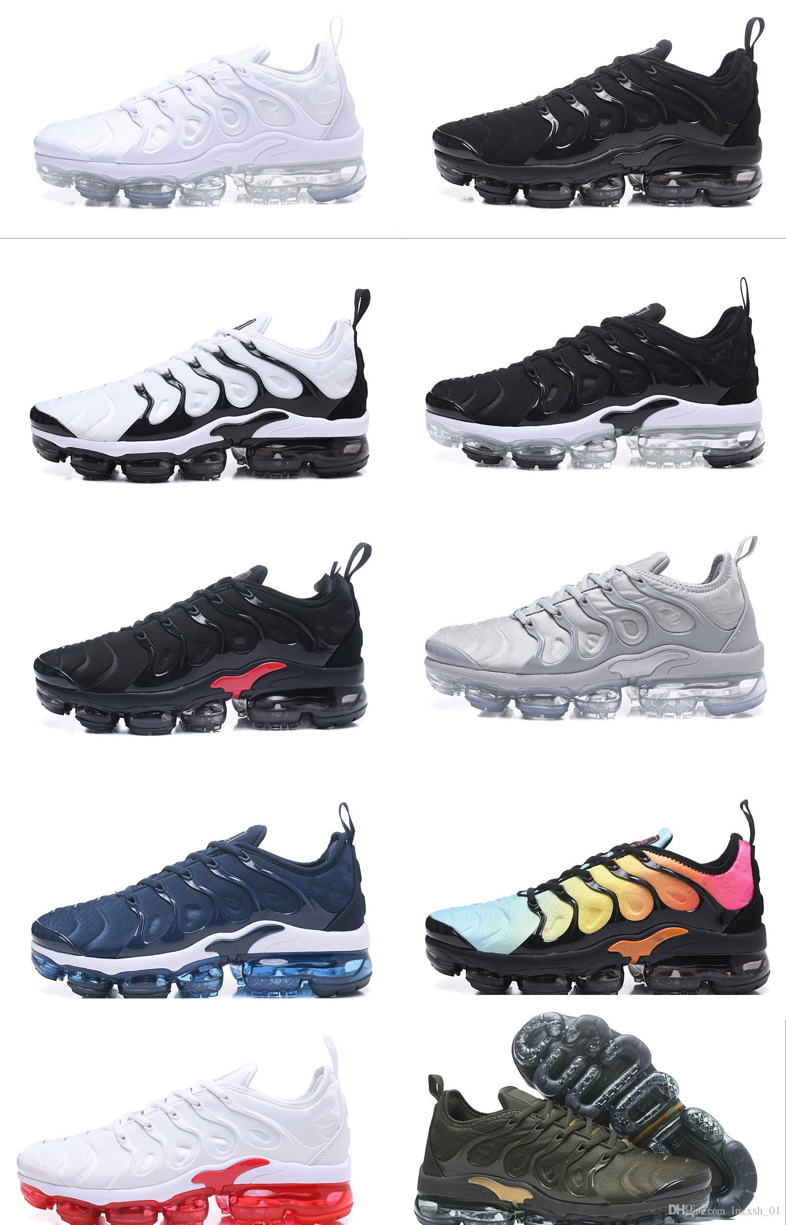 Hot Sale New Arrive 2018 Vapormax Plus Tn Mens Running