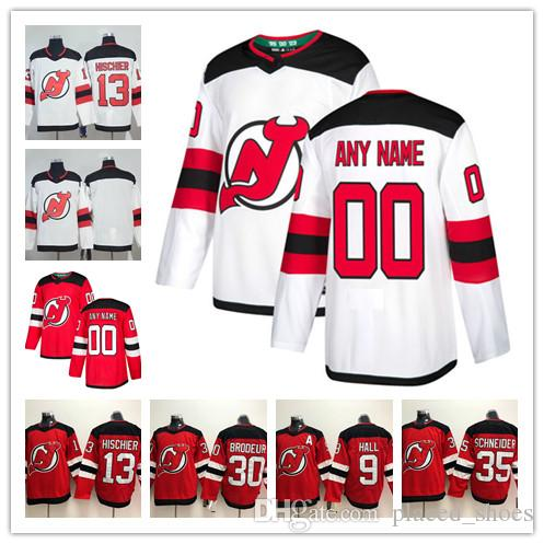 2019 Custom New Jersey Devils ANY NAME  NO JERSEYS Men Women Kids 9 Taylor  Hall 13 Nico Hischier Authentic Hockey Jerseys Stitched Personalize From ... 36626c83b