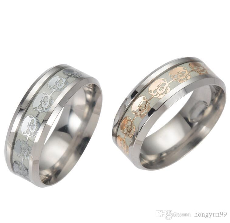 New High Quality 316l Stainless Steel Musical Note Pattern Ring