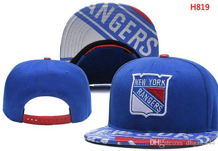 2018 new york snapback rangers caps adjustable all team baseball women men snapbacks high quality sports hat new york caps rangers hats vegas golden h