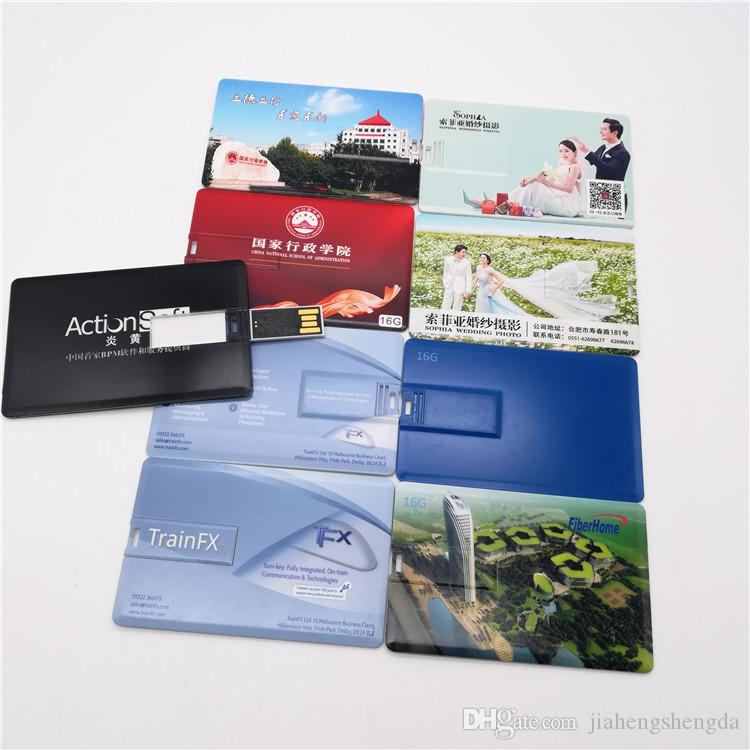 Q210 Gift Card Usb Flash Drive 16g Usb Stick Customize Background