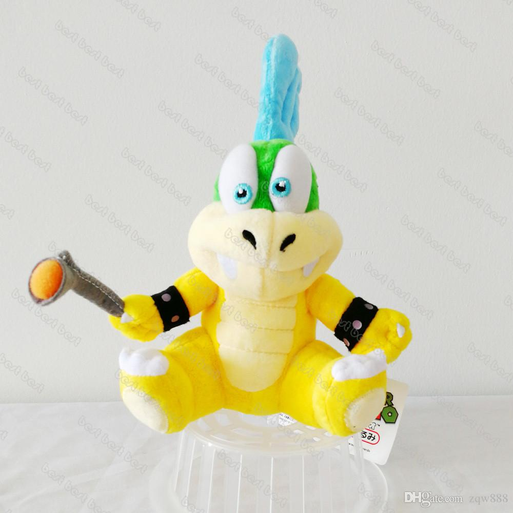 """New arrival 100% Cotton 8"""" 20cm Super Mario Koopalings Larry Koopa Plush Stuffed Toys For Child Gifts"""