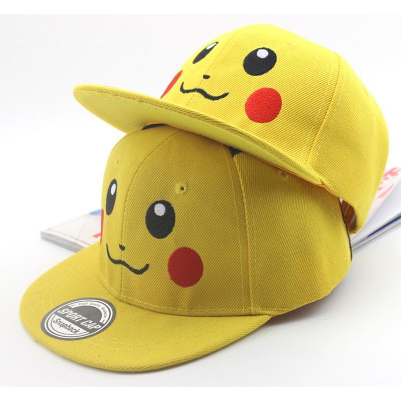 069e47eafe1 Japan Cartoon Baseball Hat Pikachu Kids Hat Boys And Girls Four Seasons  Applicable Outdoor Sunscreen Kids Baseball Caps Custom Baseball Hats Army  Hats From ...
