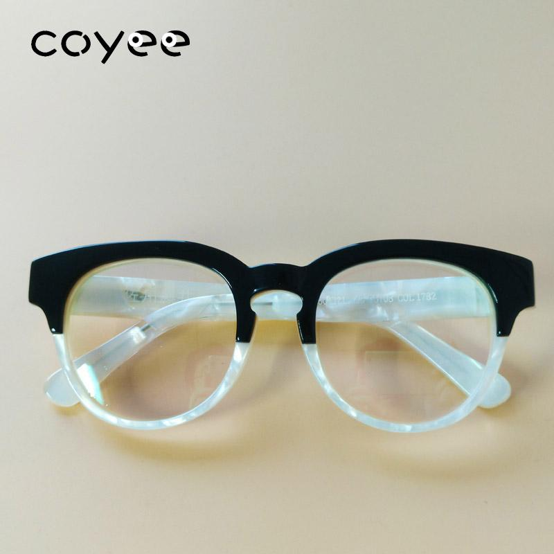 66e691b016 Coyee Handmade Fashion Acetate Eyeglass Frames Women Men RX Optic ...