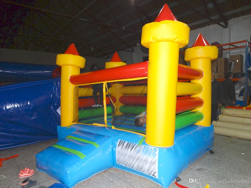 inflatable castle bounce house Commercial indoor soft play equipment indoor playground for sale