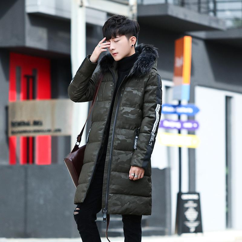 2018 Fashion Urban Waist Shaped Body Style Men Men S Down Jacket