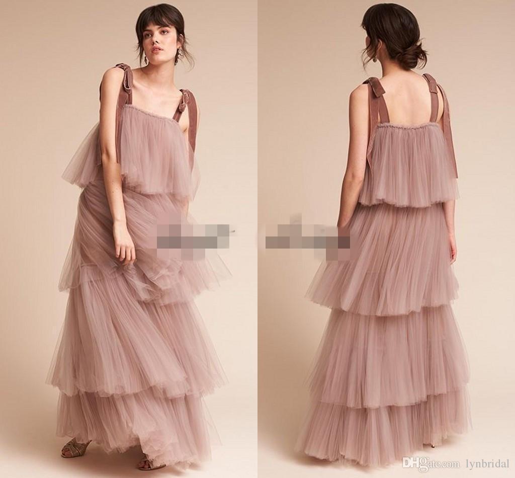 Compre Vintage Gran Gatsby Blush Desnudo Vestidos De Fiesta De Noche ...