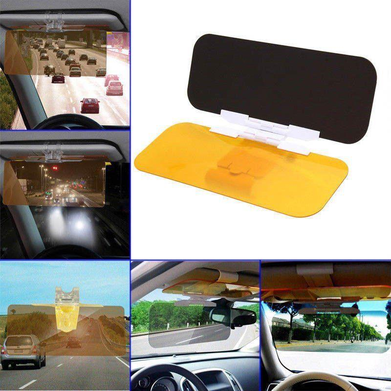 Tac Visor Day Night Anti Glare Visor Shade Driving HD UV Sun Vision ... be1d1340b23