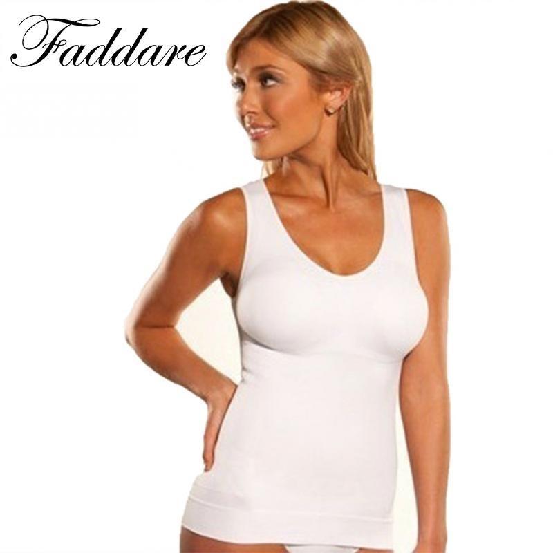 97dbe3a6970 Women Slim Up Lift Bra Shaper Tops Body Shaping Camisole Corset ...