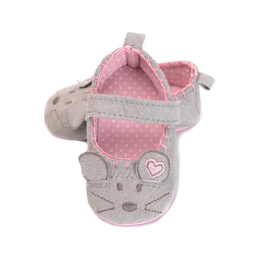 Baby Quaste weiche Sohle Wildleder Krippe Schuhe Kleinkind Junge Mädchen 0-18M