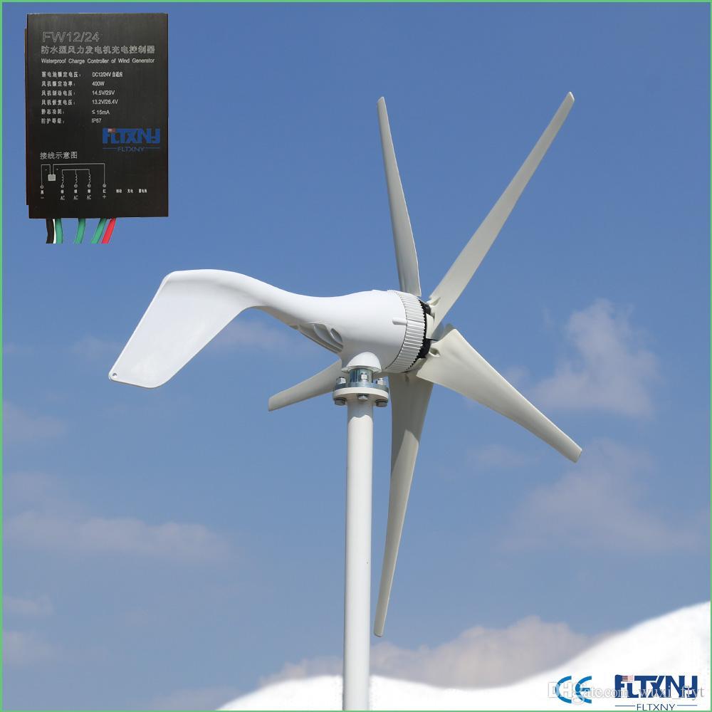 3c28cdeb973 Compre Gerador Eólico De 12V E 24V Que Converte Energia Eólica Em Trabalho  Mecânico De 400W De Wuxi flyt