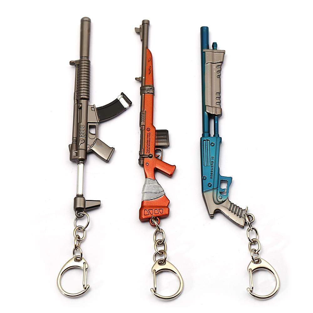 Grosshandel Schmuck Fortnite Keychain Battle Royale Gun Modell Spiel