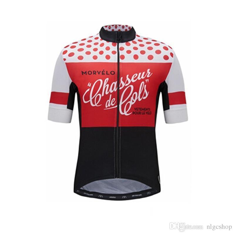 9782216bb9 Camiseta De Ciclismo De Mangas Cortas Del Equipo Nw Morvelo Camiseta De  Ciclismo De Jersey De Secado Rápido Camiseta De Ciclismo De Manga Corta  Para Hombres ...