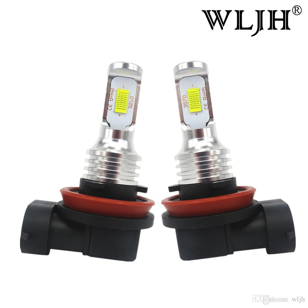 Wljh Canbus H8 Led Fog Light Bulbs Led H9 Bulb H11 Fog Lamp Driving