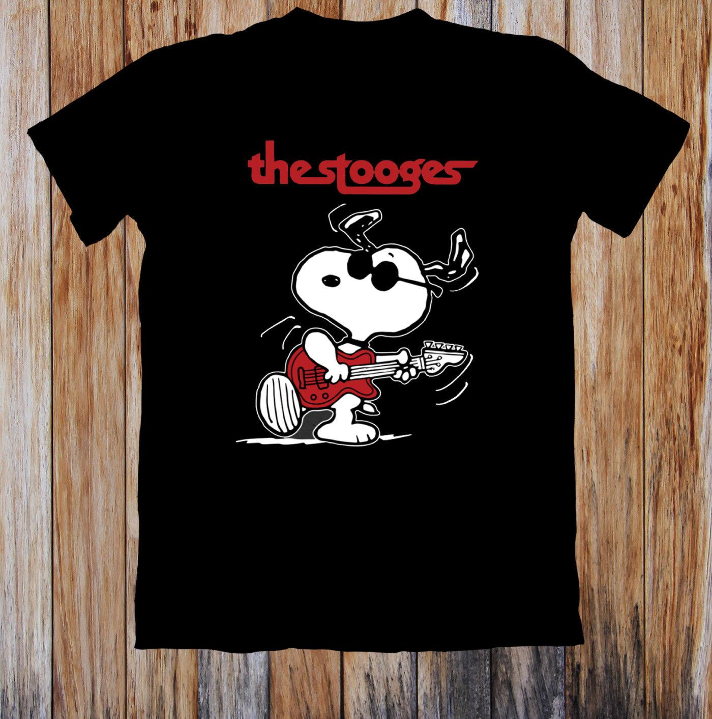 aebfa7c5c Snoopy Iggy Pop And The Stooges Unisex T Shirt Design Your Own T Shirts  Womens Shirt From Lanshiren3, $11.64| DHgate.Com