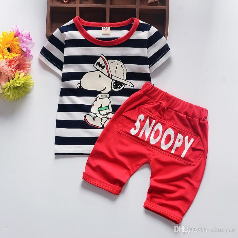 2018 Baby Boy Clothes 2018 New Summer Boys Clothes Sets Long Sleeve