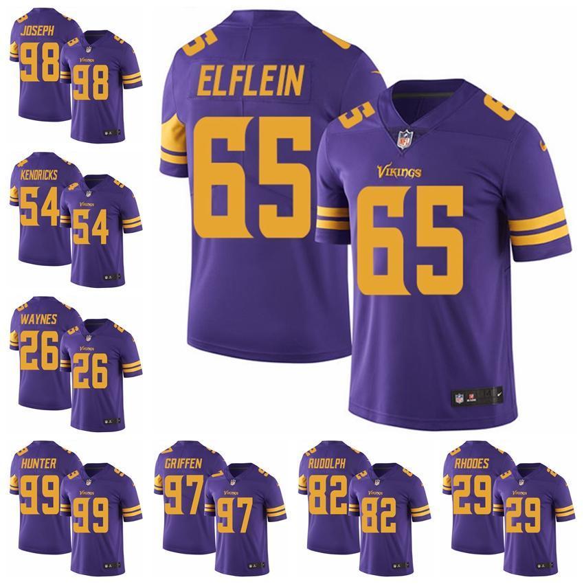 2018 Minnesota Limited Football Jersey Vikings Purple Rush Vapor  Untouchable 8 Kirk Cousins 19 Adam Thielen 14 Stefon Diggs 18 From  Jerseyptb7 4d8155520